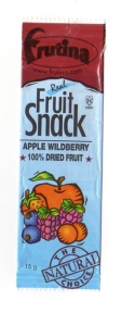 Apricot & wild berries fruit snack