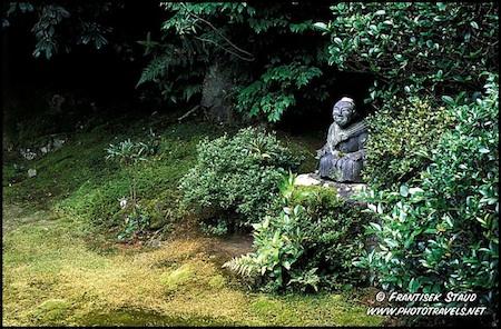 Jizo moss garden by Frantisek Staud