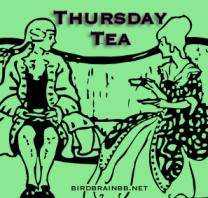 Thursday Tea button