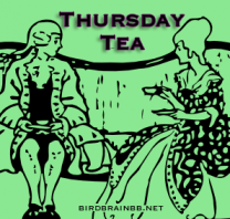 Thursday Tea button