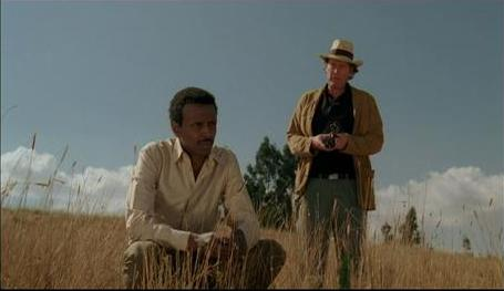Scene from the film Atletu (Ethiopia, 2009)