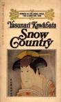 Cover Snow Country (Yasunari Kawabata)