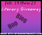 1st Literary Giveaway Blog Hop Button