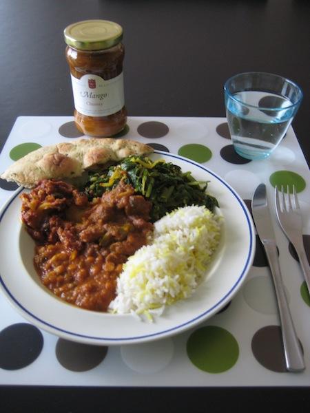 Indian Chard Dish