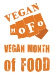 Vegan Month of Food button