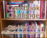 Cookbook Challenge Button