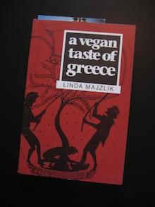 Cover A Vegan Taste of Greece kookboek (Linda Mazjlik)