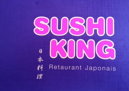 Menu of Sushi King Dijon