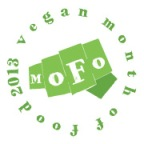 Vegan MoFo button 2013